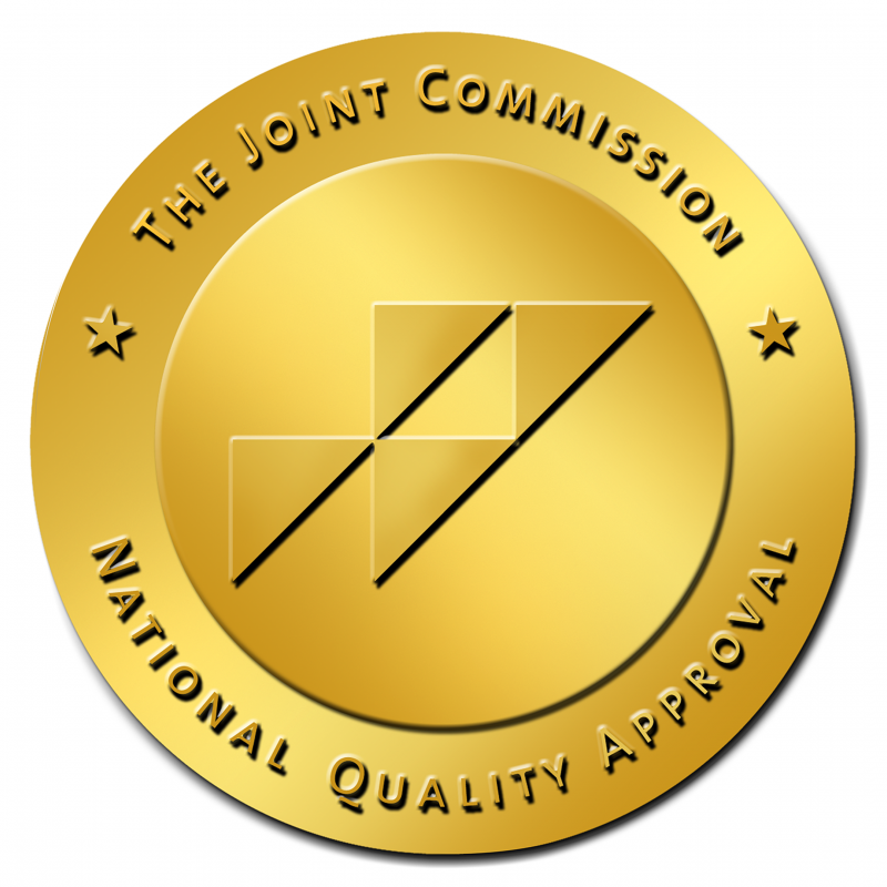 The Gold Seal of Approval® is a symbol of quality that reflects an organization's commitment to providing safe and effective patient care.