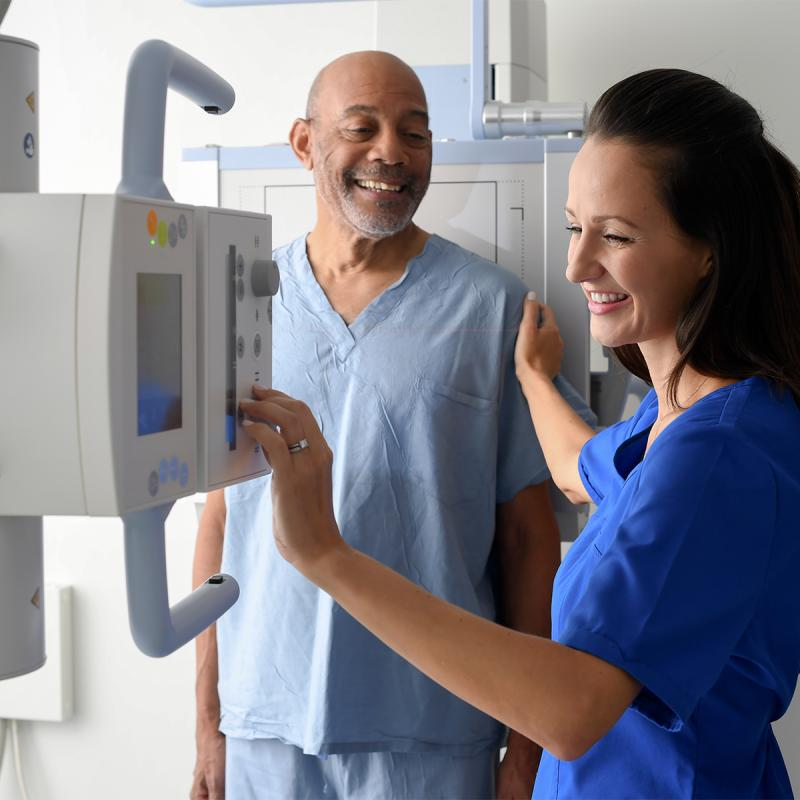 X-ray technology is a quick and effective imaging tool to assist your doctor in diagnosing any medical conditions.